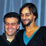 Romuald Karmakar  und Ricardo Villalobos