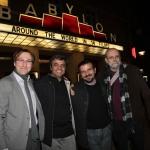 Bernhard Karl, Mohammad  Rasoulof, Jamal Rahmati  und Charlie Cockey