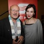 Volker Schlöndorff  und Sibel Kekilli